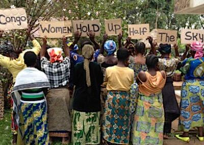 promote women's participation in conflict transformation
